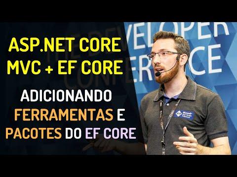 ASP.NET Core MVC + EF Core Code First: Adicionando ferramentas e pacotes do EF Core