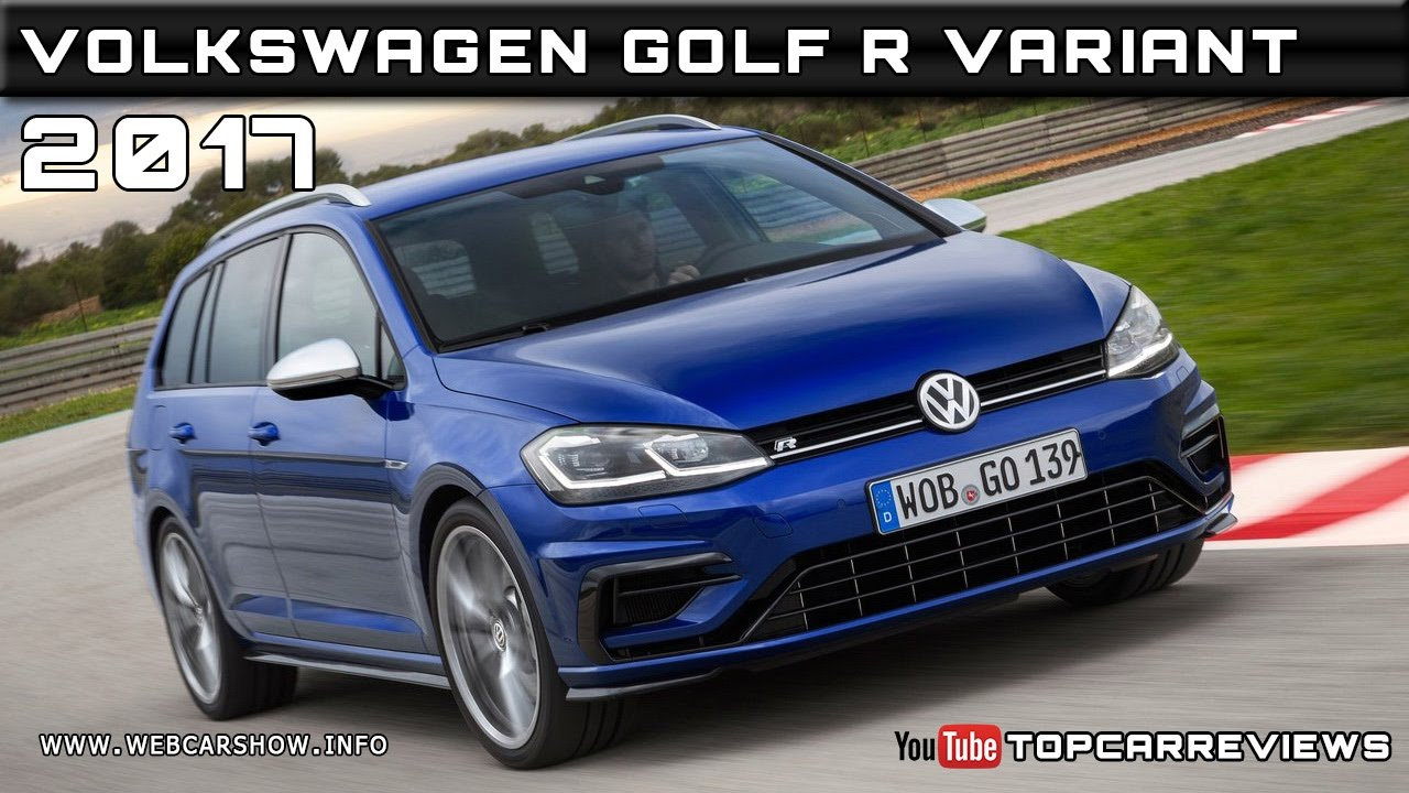 2017 Volkswagen Golf R Variant Review Rendered Price Specs Release Date