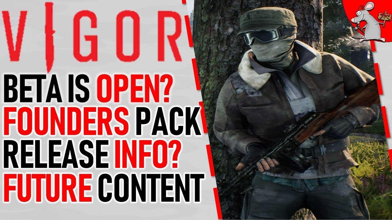 VIGOR BETA OPENED MORE? FOUNDERS PACK REVEAL SOON! RELEASE DATE AND FUTURE  CONTENT INFO