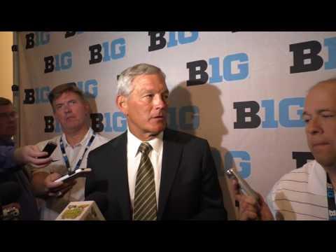 Kirk Ferentz B1G Media Day