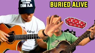Baixar Alip Ba Ta - Buried Alive - Avenged Sevenfold Fingerstyle Guitar Cover Reaction //  Guitarist Reacts