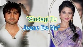 Jeene De Na | Bepannah Bepanah | Karaoke with Lyrics | Instrumental | Untouchables | Golden DreamS