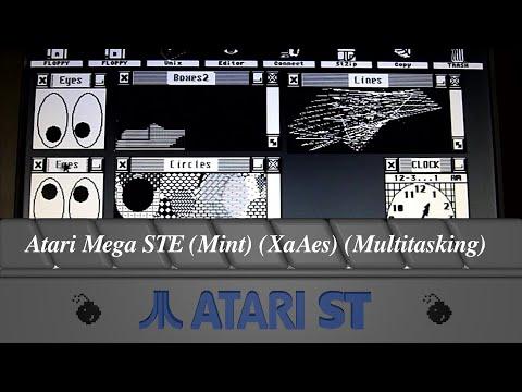 Atari Mega STE (Mint) (XaAes) (Multitasking)