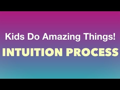 Kids Do Amazing Things - Intuition Process | Art of Living
