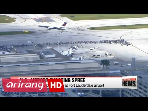 5 killed, 8 injured by gunman at Fort Lauderdale airport