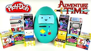 HUGE Adventure Time Blind Box Play Doh Surprise Egg - Hello Kitty Sonic My Little Pony Disney Toys