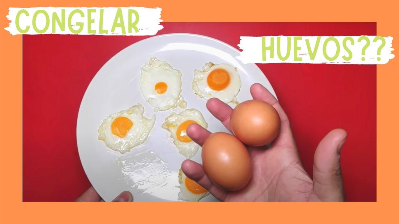 Se puede congelar el huevo cocido