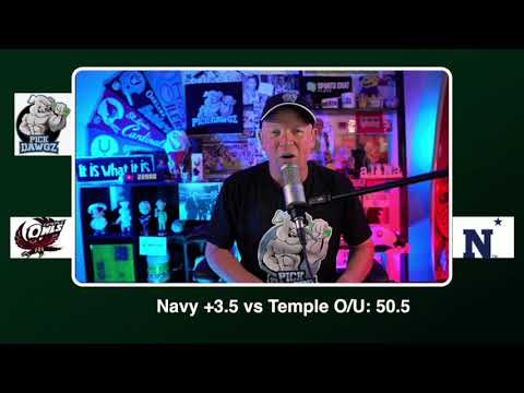 Navy vs Temple Free College Football Picks and Predictions CFB Tips Saturday 10/10/20