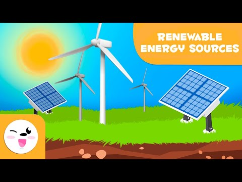 Renewable Energy Sources - Types Of Energy For Kids