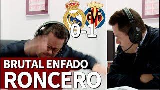 فيديو : رونثيرو وصدمة قوية بعد استقبال الريال هدف فياريال وخسارته المباراة