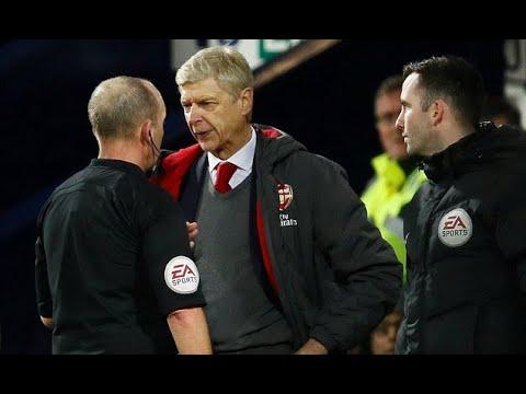 Arsenal: Arsene Wenger accuses Mike Dean of seeing things