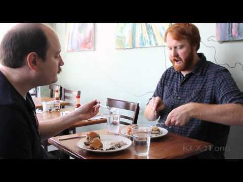 Sandwiches At The Park Restaurant: Buffalo Chicken, BBQ Pork & Short Ribs