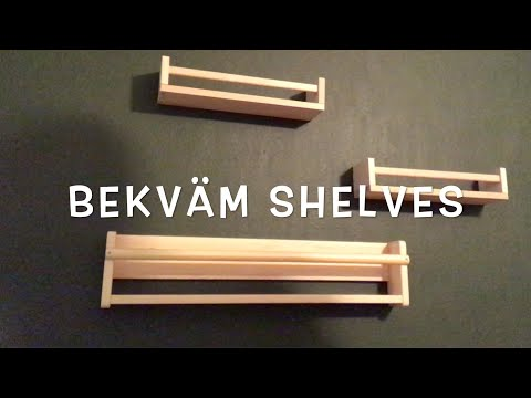 Ikea Bekvam Shelves How To Assemble