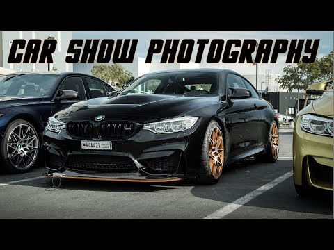 Car Photography - How to photograph in Car Shows + Bahrain BMW M Club event (VIDEO)