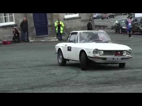 1972 Lancia Fulvia, Auto Test at Caernarfon Harbour car park.