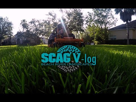 Scag V-log #4 VRide ALMOST DROPPED IN LAKE!/POV/No Music/Residentials