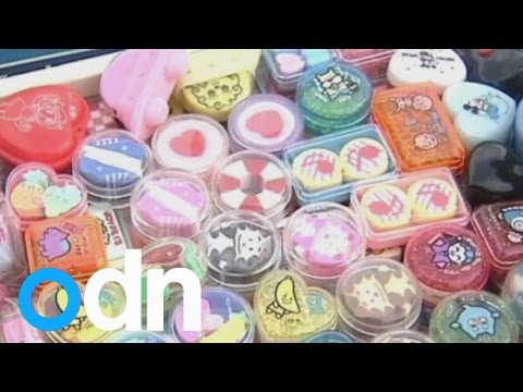 World's biggest collection of erasers? Woman owns 'tens of thousands' of rubbers