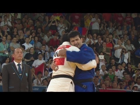 Judo Men -100 kg Final - Gold Medal - Mongolia v Russian Fed. Replay - London 2012 Olympic Games