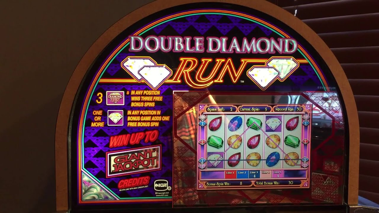 Double Diamonds Slot Machine
