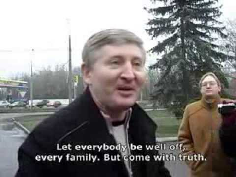 Rinat Akhmetov meets protesters and gives the lie to them