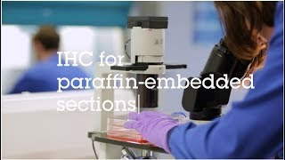 Gambar cover IHC for paraffin embedded sections video protocol
