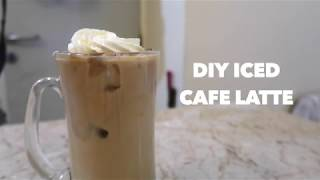 DIY Iced Cafe Latte
