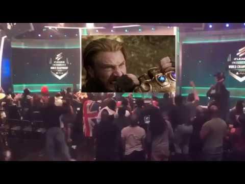 Avengers: Infinity War Trailer 2 reaction  (not my reaction) (skit)