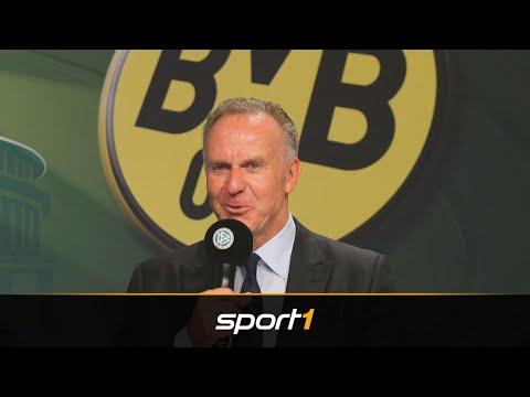 Rummenigge begrüßt Titelambitionen des BVB | SPORT1 - DER TAG