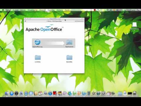 how to make openoffice default on mac