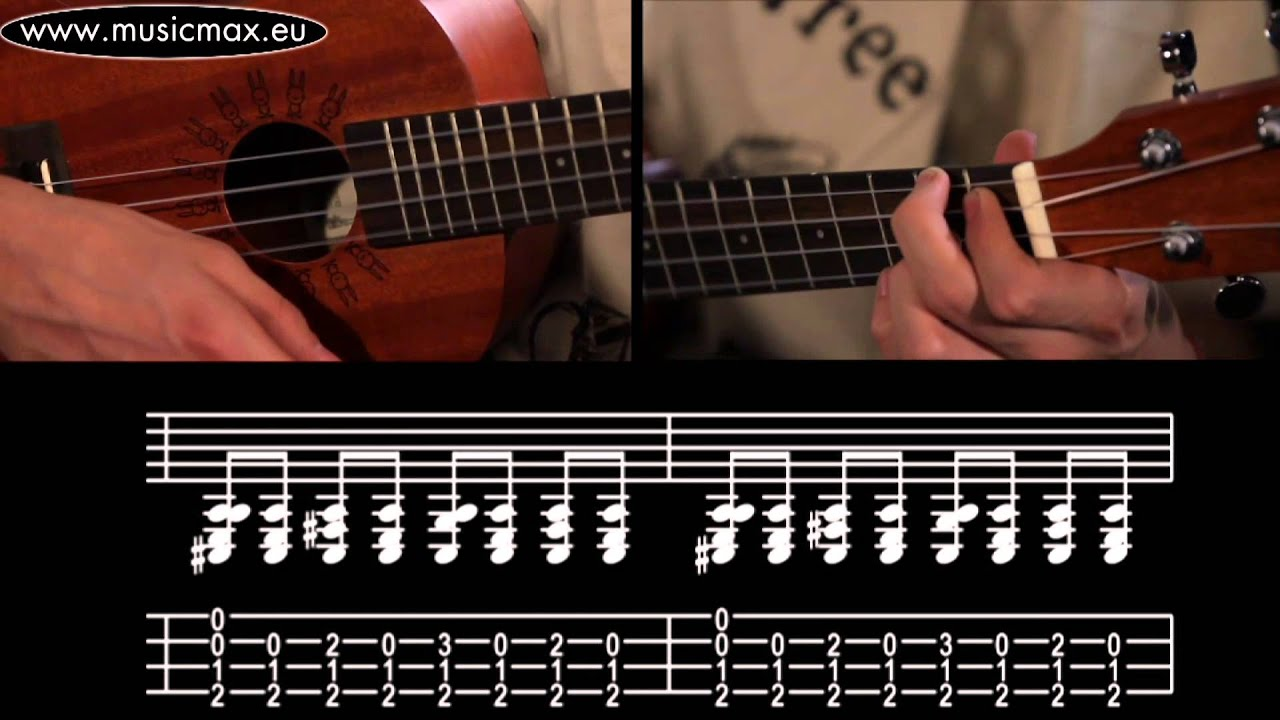 Rock Roll Ukulele Chords Youtube