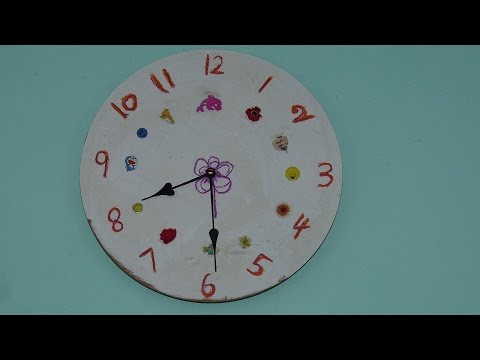 How to make your own designed clock