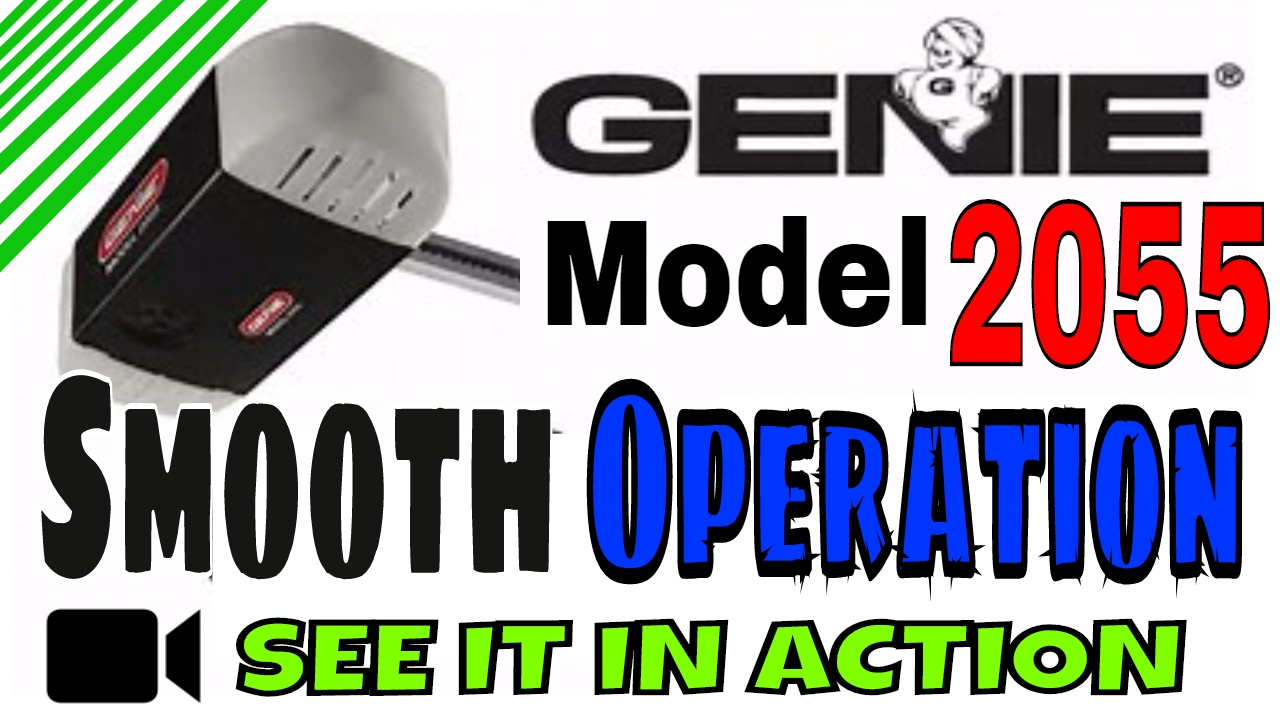 Genie Garage Door Opener Belt Drive Review Model 2055