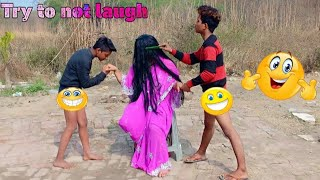 MUST WATCH NEW 🤣🤣 FUNNY COMEDY VIDEO .. NONSTOP COMEDY VIDEO EPISODE -01
