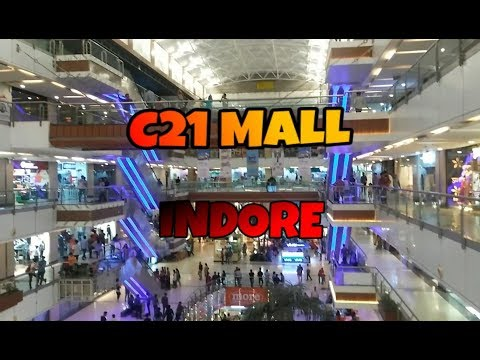 Riding from SUPER CORRIDOR to C21 MALL INDORE | AS BIKERMANIA