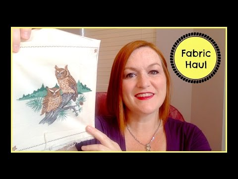 Live Haul Video - Thrift Store Fabric & Linens Haul to Sell on Ebay & Etsy