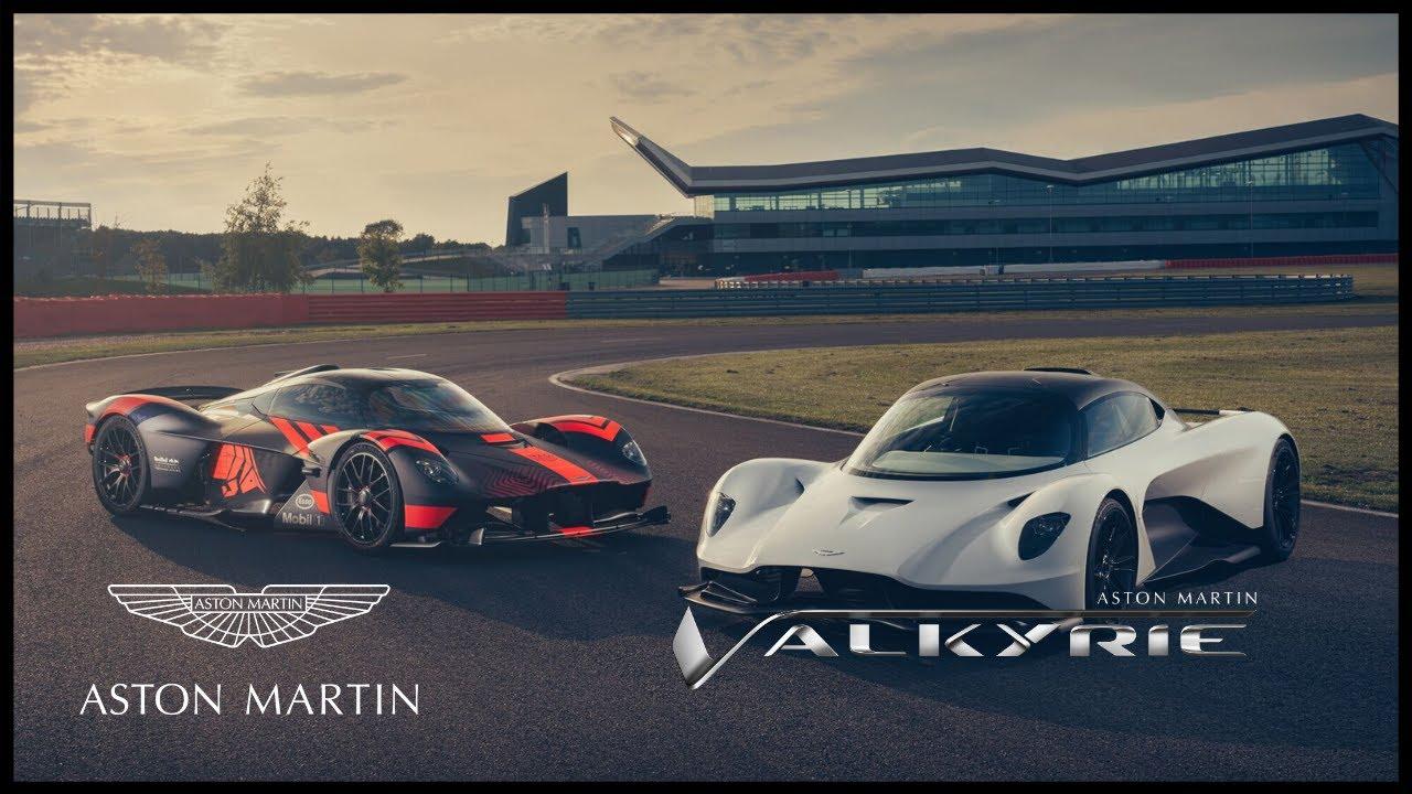 Aston Martin Valkyrie And Valhalla Take Flight Youtube