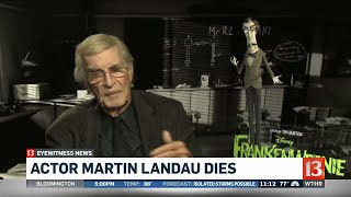 Martin Landau dies.