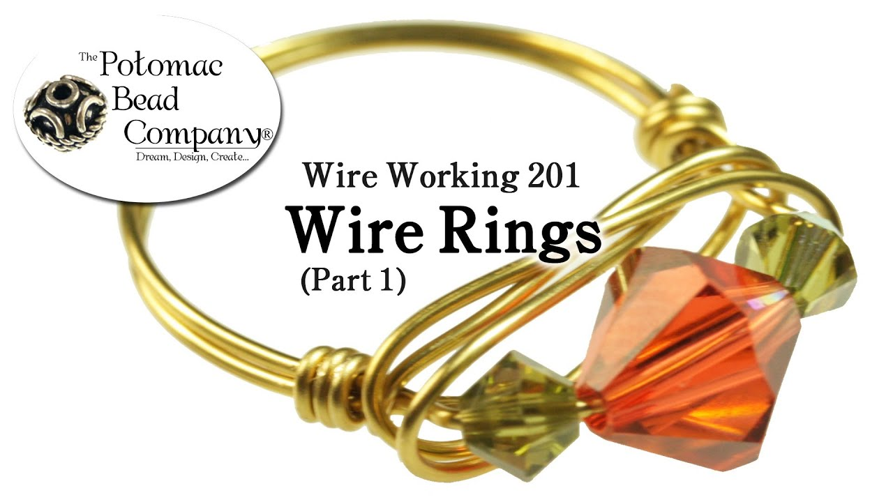 How to Make Wire Rings - YouTube