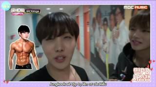 [VIETSUB] 151219 BTS Show Champion Backstage