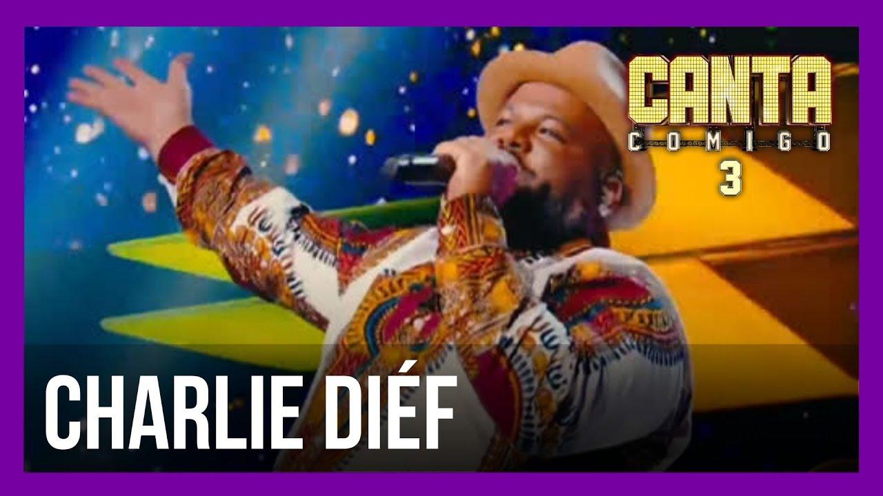 Charlie Diéf aposta no samba e levanta os 100 jurados   Canta Comigo 3