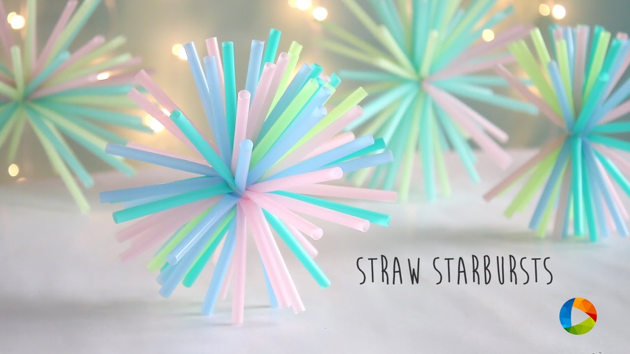 Craft How-to: Straw-Burst