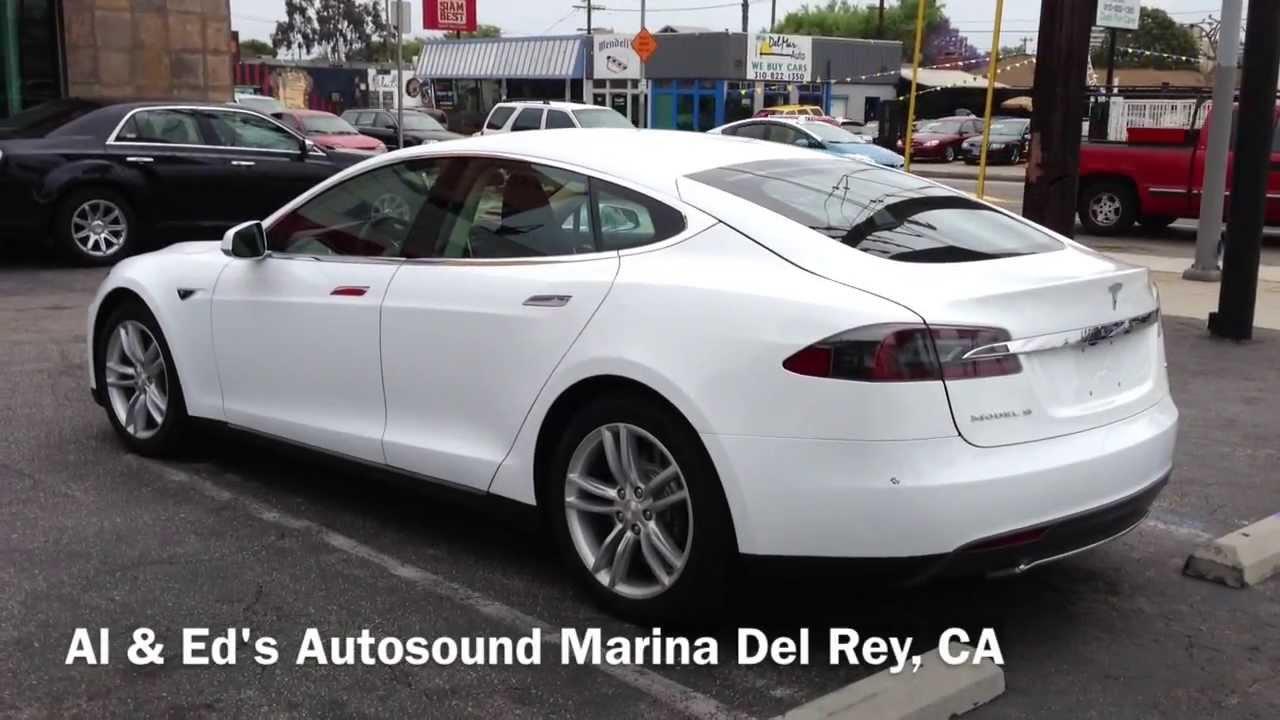 Tesla Model S Front Parking Sensors Al Eds Autosound Los Angelesca