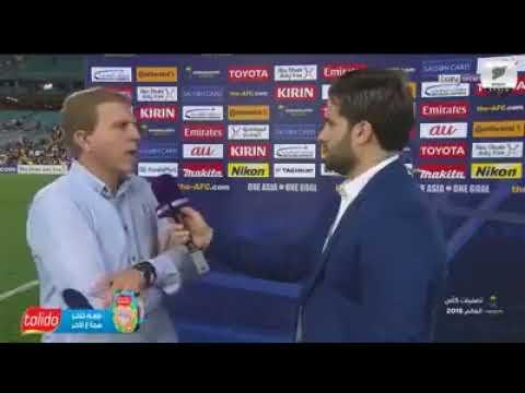 دام برس : تصريحات الحكيم و فراس الخطيب بعد المباراة