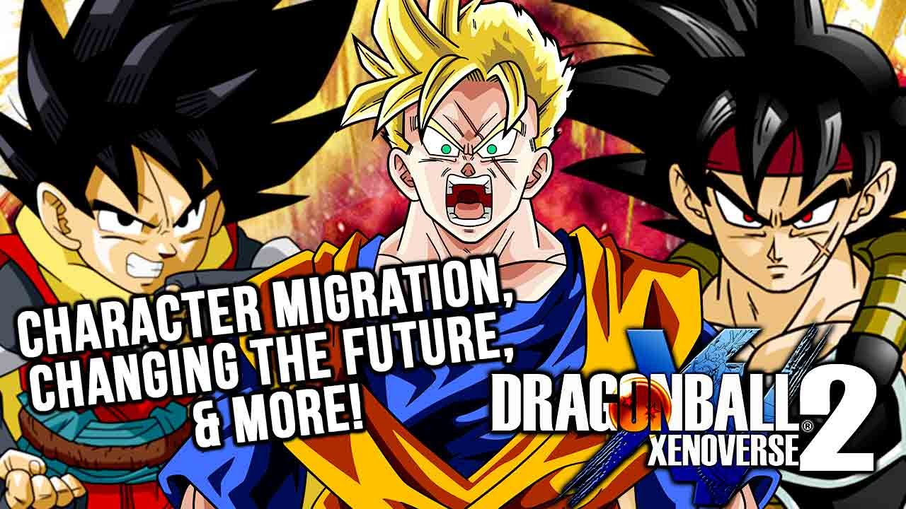 Xenoverse 2 Character Transfer System Talk! Which Super