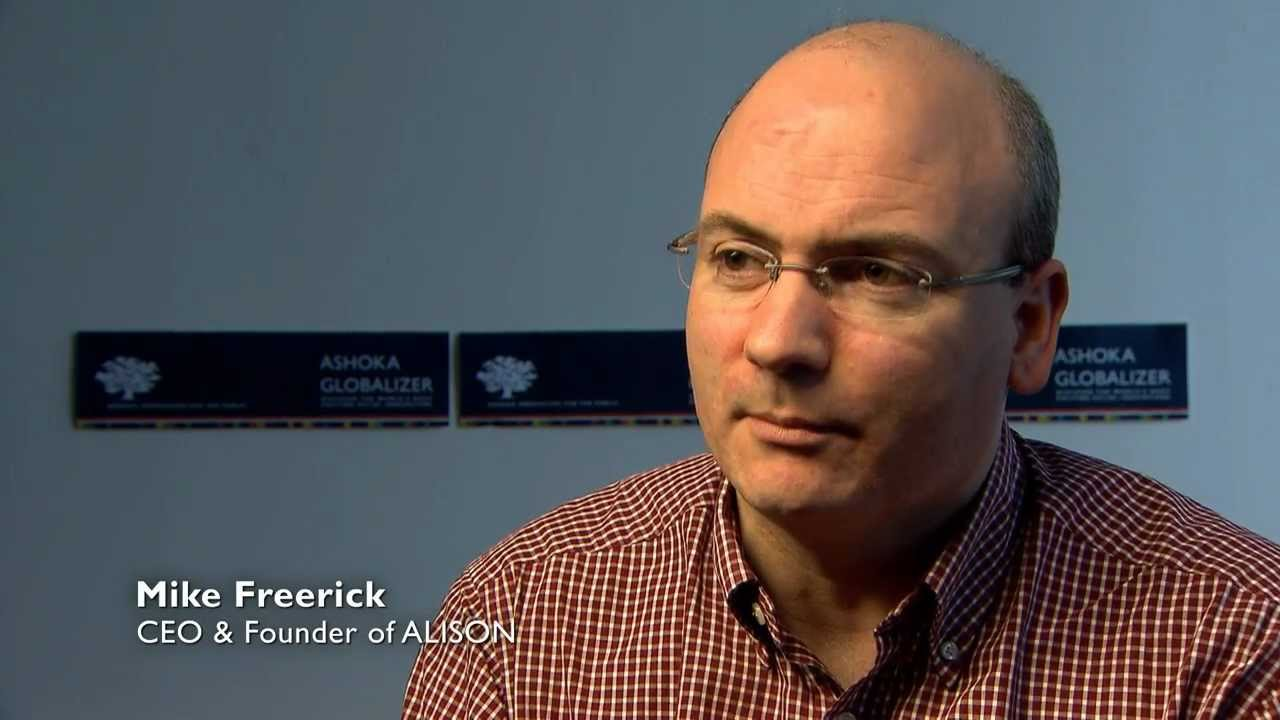Mike Feerick about the online education project ALISON and mobile ...