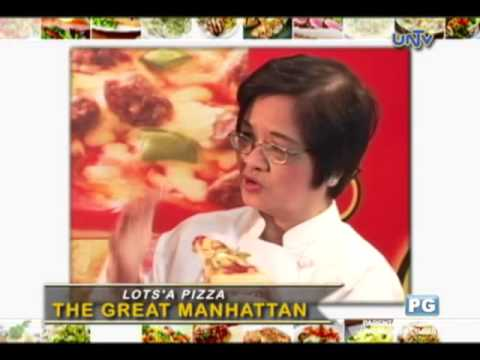"Lots' A Pizza's ""The Great Manhattan"" Recipe"