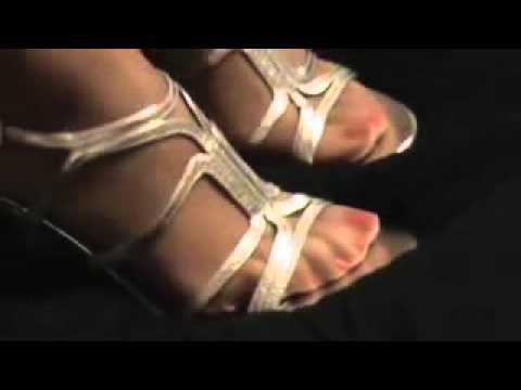 Foot Leg Heels spielen lesbisch
