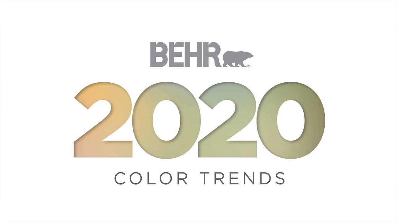 Color Trends 2020.Color Trends 2020 Color Of The Year And Palettes Behr Paint