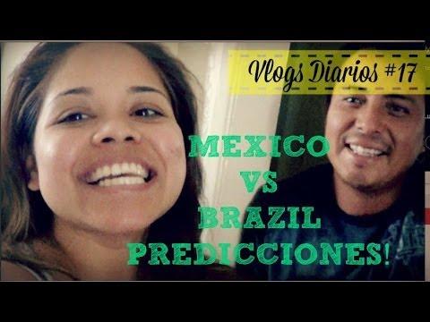 """MEXICO VS BRAZIL PREDICCIONES!! VLOGS DIARIOS #17 """"UnaFamilia Chilanga"""""""