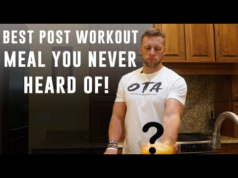 Best Post Workout Meal for Athletes! | Overtime Athletes